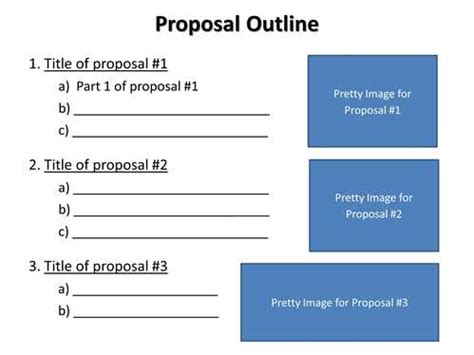 Objective research proposal